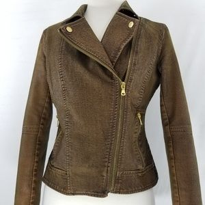 Beulah Faux Leather jacket